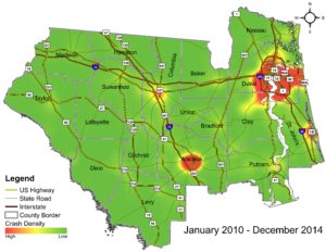 2010-2014 Impaired Driving GIS Map