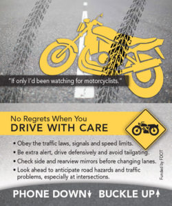 No Regrets When You Drive With Care | Motorcycle Safety
