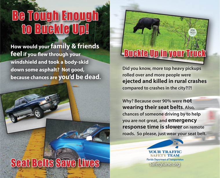 Rural Traffic Safety Seat Belt Campaign