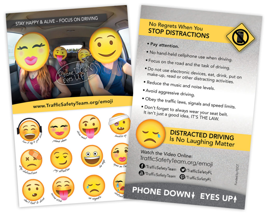 Emoji Sticker Safety Flyer