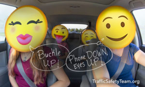 Distracted Teen Drivers - Phone Down, Eyes Up
