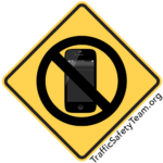 no texting safety sign