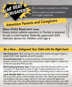 Child Passenger Safety guidelines