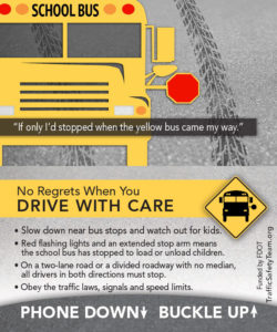Bus Safety Tip Card