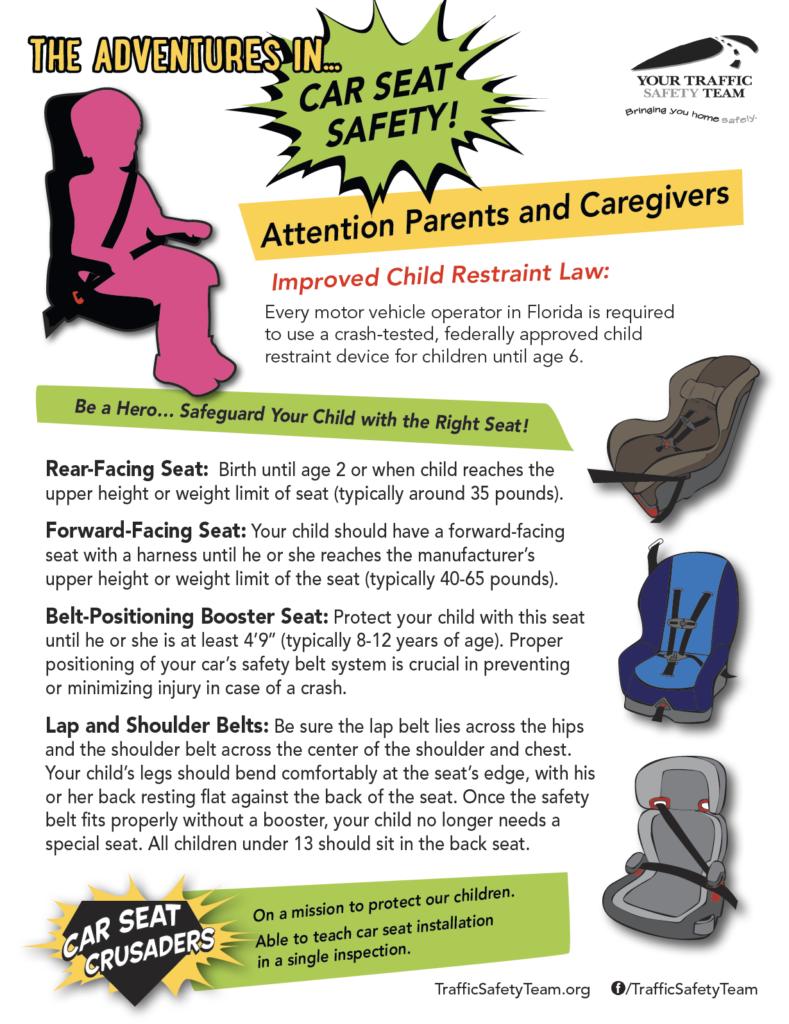 CPS Car Seat Guidelines Printable PDF