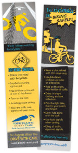 FDOT D2 CTST FL Traffic Safety Bicycle Bookmark