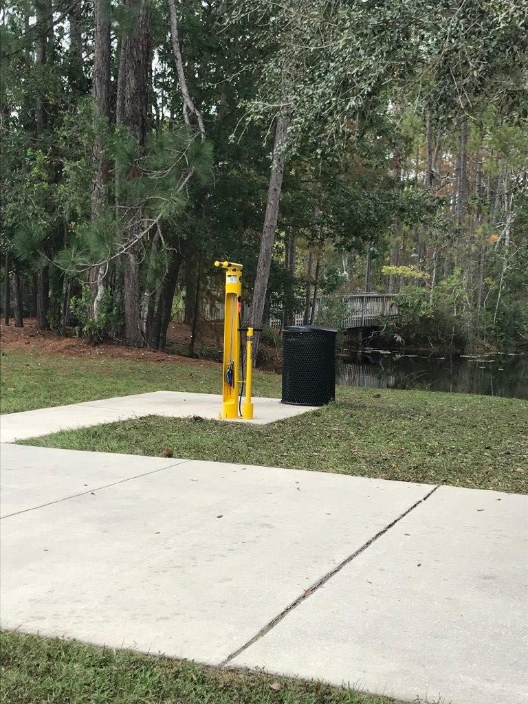 FDOT D2 CTST Bike Fixit Station at UNF