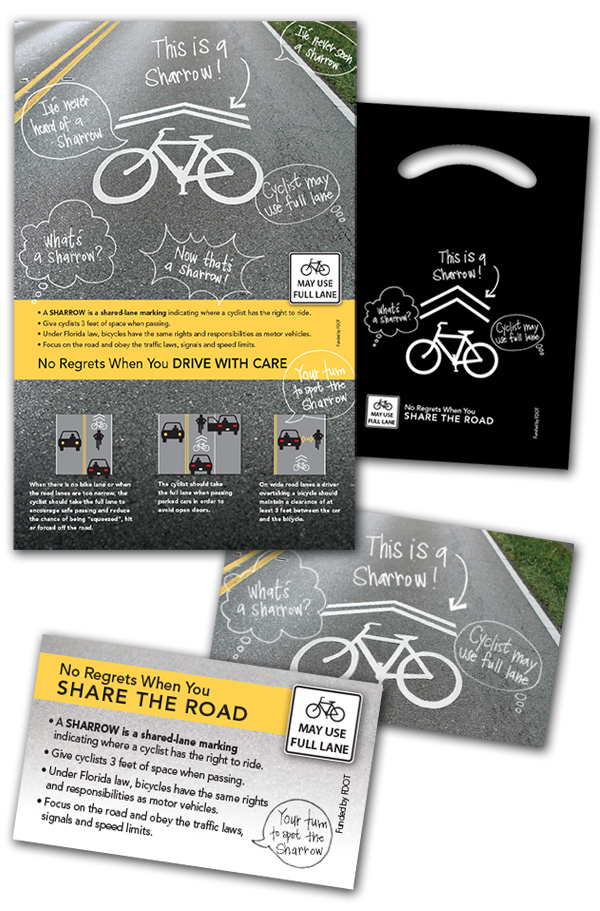 FDOT D2 CTST FL Sharrow Bike Safety