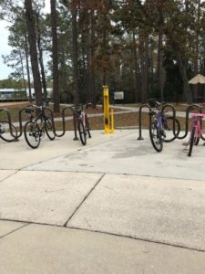 FDOT D2 CTST Bike Fixit Station at UNF