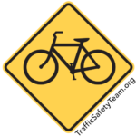 FDOT D2 CTST FL Traffic Safety Bike Road Sign