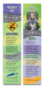FDOT CTST Occupant Protection safety bookmark