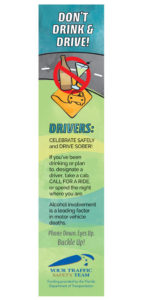 Don't Drink and Drive Bookmark