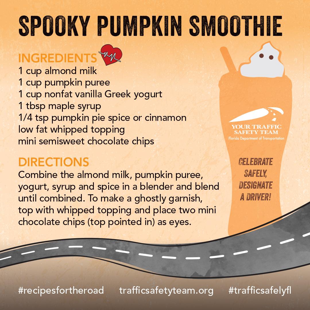 Halloween Smoothie Recipe