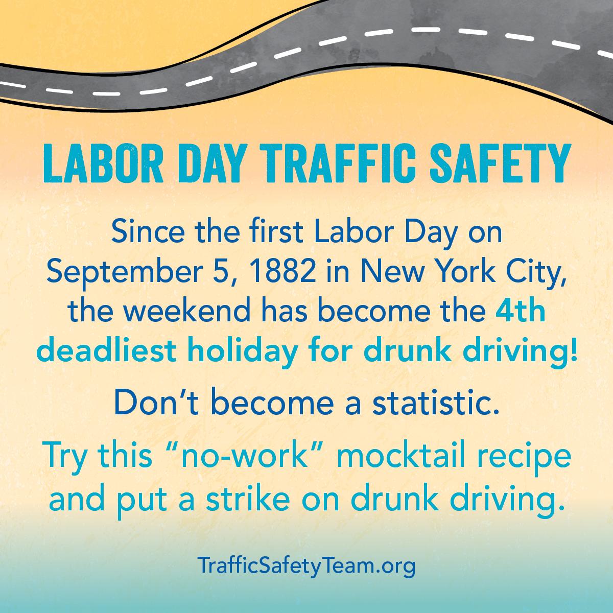 Labor Day Traffic Safety