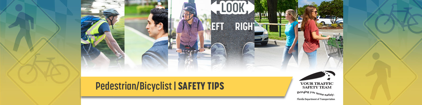 Pedestrian and Bicyclist Safety Tips
