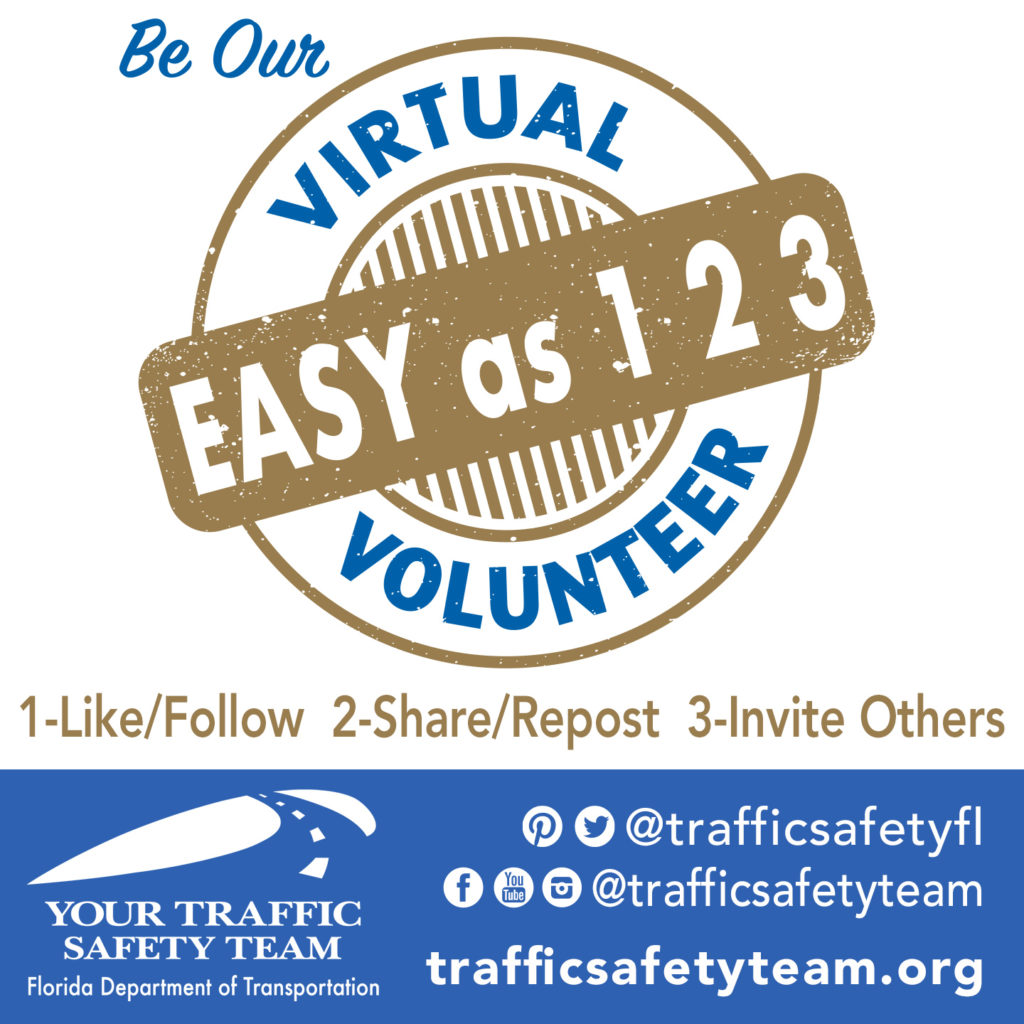 traffic safety virtual volunteer