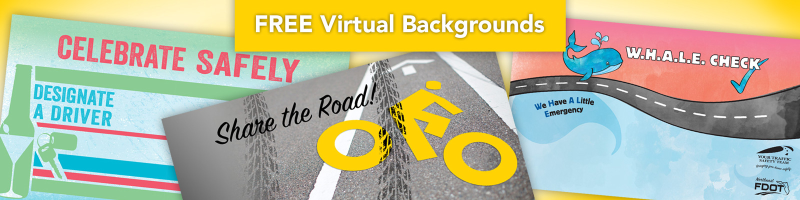 Traffic Safety Virtual Backgrounds